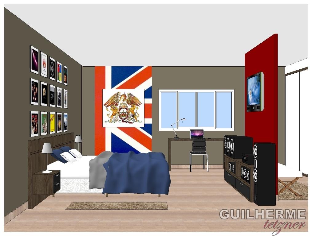 Projeto Quarto Queen: Um projeto para o futuro - Por: Guilherme Tetzner