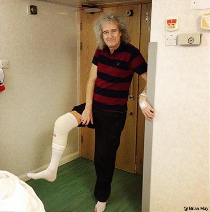 Foto de 04/12/12, Brian logo após a 1º cirúrgia