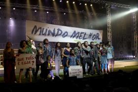 50 sucessos do Rock in Rio embalam espetáculo.Foto: Guga Melgar/Divulgação