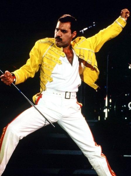 Segundo banco de dados do Ecad, Freddie Mercury tem 163 obras e 413 fonogramas atribuídos a ele (Foto: reprodução)