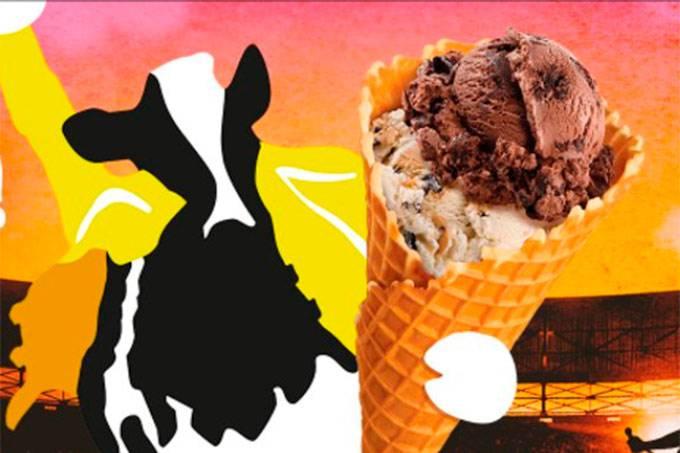 Sorvete: marca cria sabores especiais em homenagem ao Queen. (Ben & Jerry's/Reprodução)